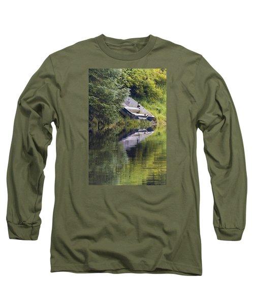 Run Aground Long Sleeve T-Shirt by Harold Piskiel