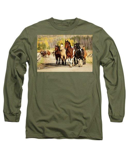 Run Out Long Sleeve T-Shirt by Sharon Jones
