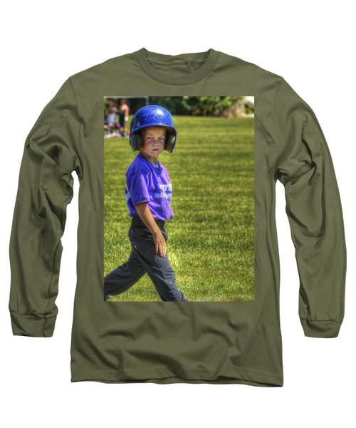 Runner On Base 1799 Long Sleeve T-Shirt
