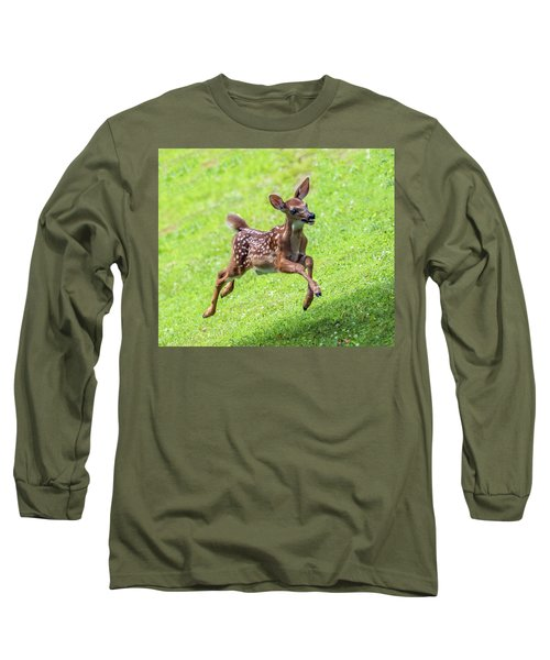 Running And Jumping Long Sleeve T-Shirt