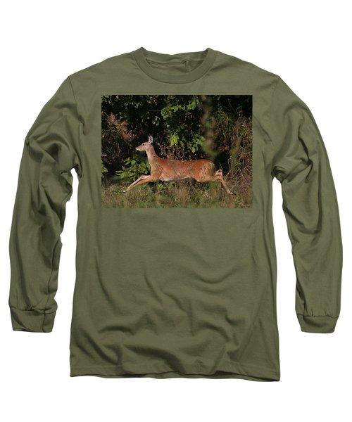 Running Deer Long Sleeve T-Shirt
