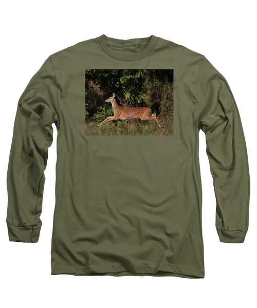 Running Deer Long Sleeve T-Shirt
