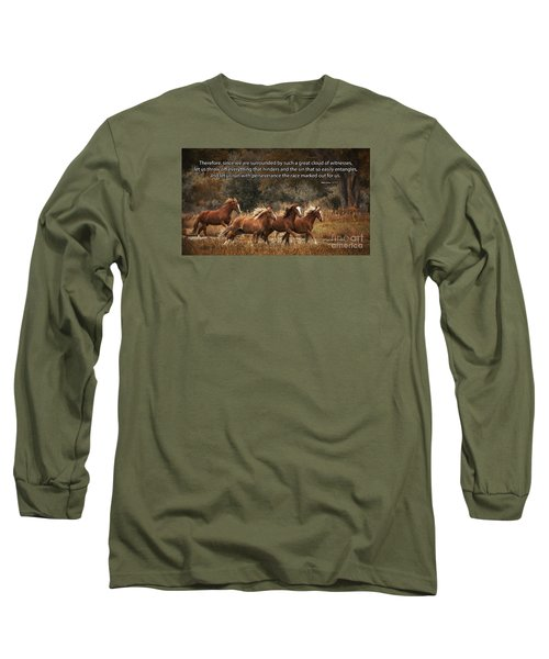 Running The Race Long Sleeve T-Shirt