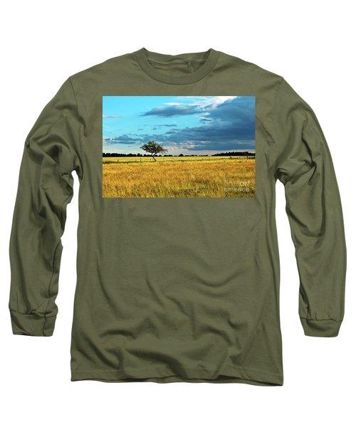 Rural Idyll Poetry Long Sleeve T-Shirt