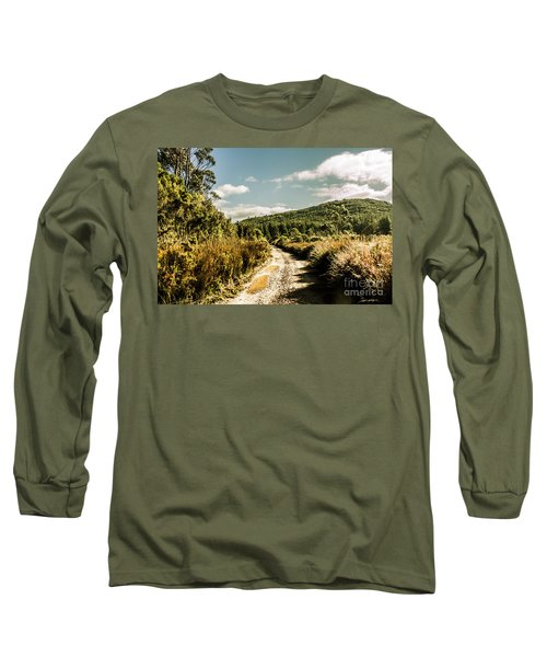 Rural Paths Out Yonder Long Sleeve T-Shirt