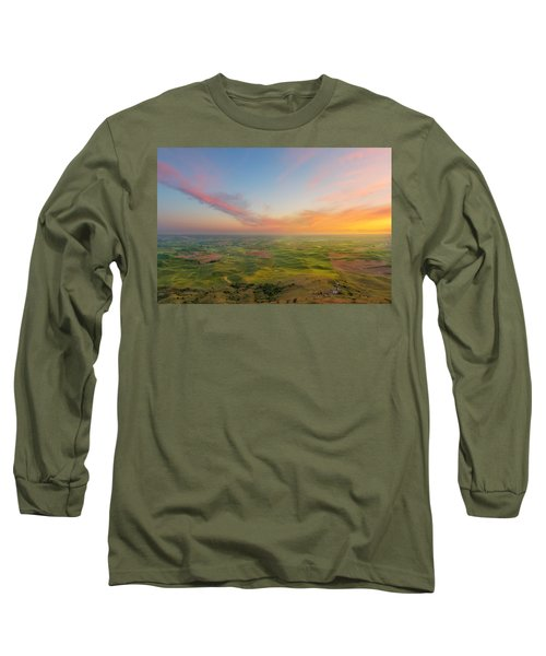 Rural Setting Long Sleeve T-Shirt by Ryan Manuel