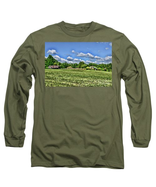 Long Sleeve T-Shirt featuring the photograph Rural Virginia by Paul Ward