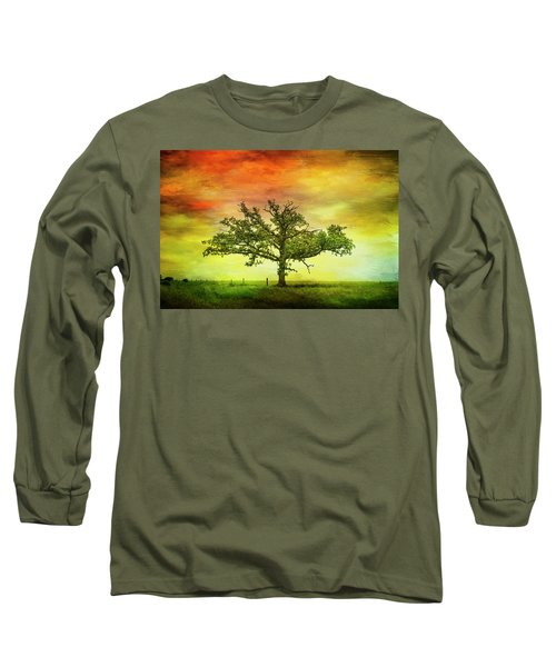 Rushford Tree On 43 Long Sleeve T-Shirt