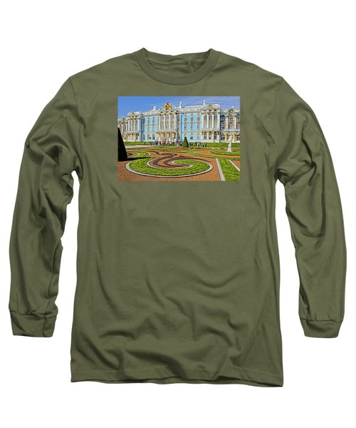 Long Sleeve T-Shirt featuring the photograph Russian Palace by Dennis Cox WorldViews
