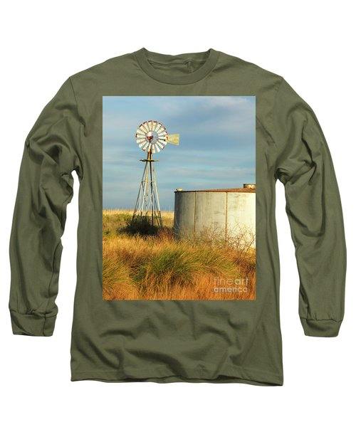 Rust Find Its Place Long Sleeve T-Shirt
