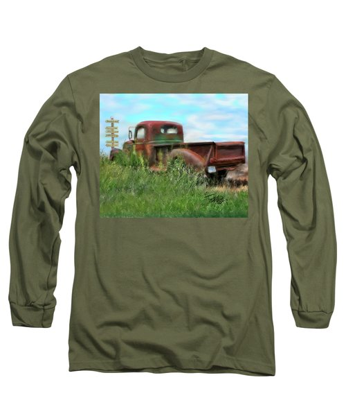 Rusted Not Retired Long Sleeve T-Shirt