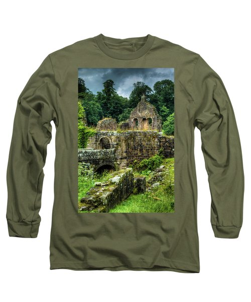 Rustic Abbey Remains Long Sleeve T-Shirt