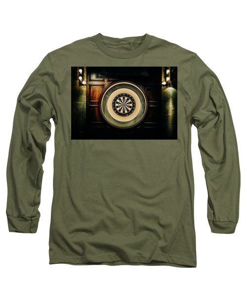 Rustic British Dartboard Long Sleeve T-Shirt