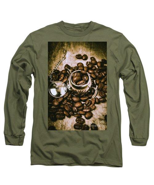 Rustic Teapot Art Long Sleeve T-Shirt