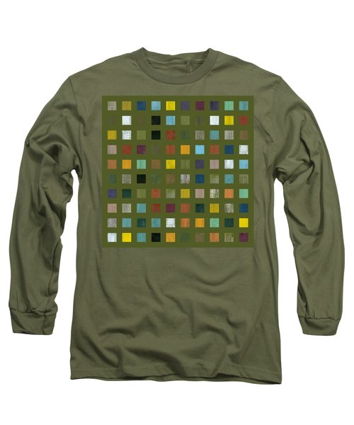 Rustic Wooden Abstract Lx Long Sleeve T-Shirt