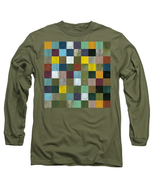 Rustic Wooden Abstract Long Sleeve T-Shirt