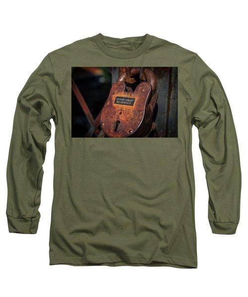 Rusty Lock Long Sleeve T-Shirt