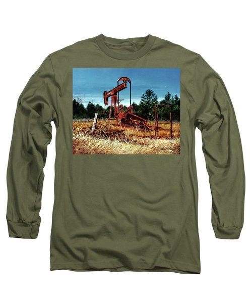 Rusty Pump Jack Long Sleeve T-Shirt