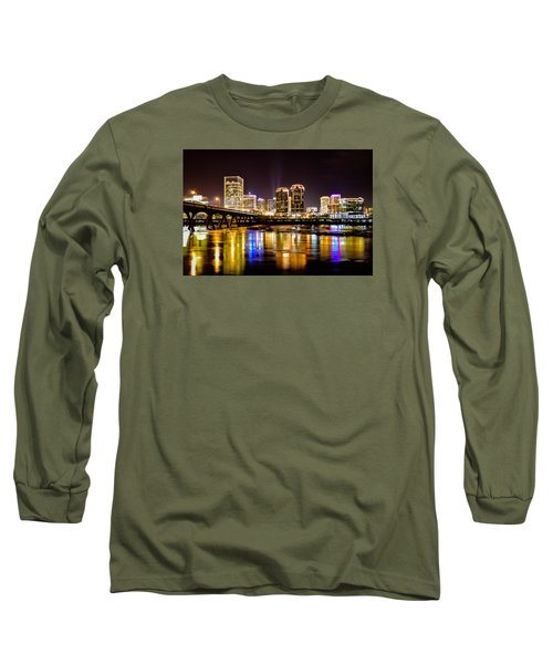 Rva Holiday Skyline 3 Long Sleeve T-Shirt
