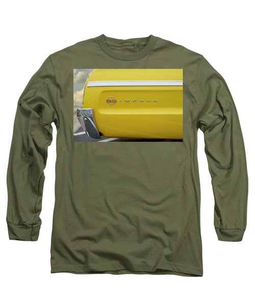 Long Sleeve T-Shirt featuring the photograph S S Impala by Mike McGlothlen
