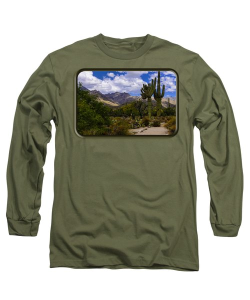 Sabino Canyon No4 Long Sleeve T-Shirt