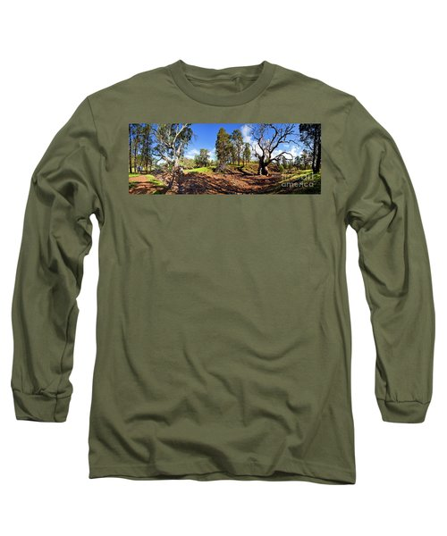 Long Sleeve T-Shirt featuring the photograph Sacred Canyon, Flinders Ranges by Bill Robinson