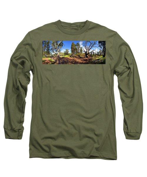 Sacred Canyon, Flinders Ranges Long Sleeve T-Shirt