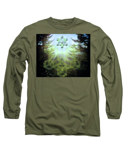 Sacred Forest Event Long Sleeve T-Shirt by Milton Thompson
