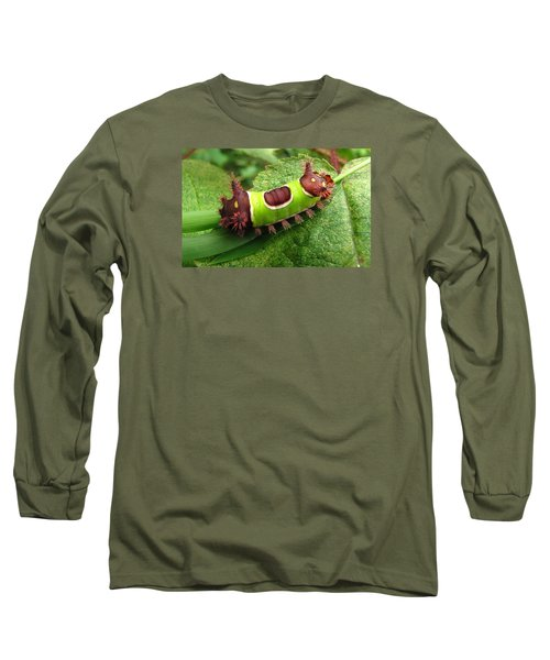 Saddleback Caterpillar Long Sleeve T-Shirt