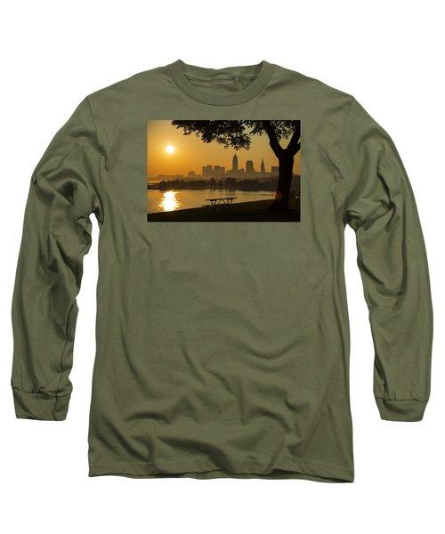 Saffron Sunrise Long Sleeve T-Shirt