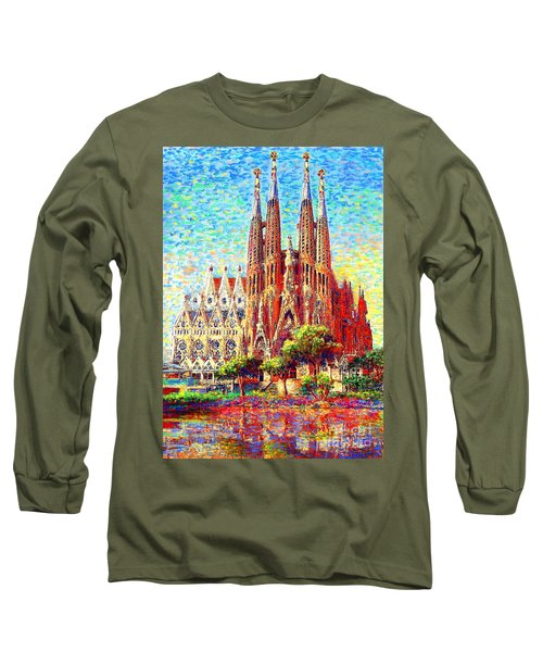Sagrada Familia Long Sleeve T-Shirt