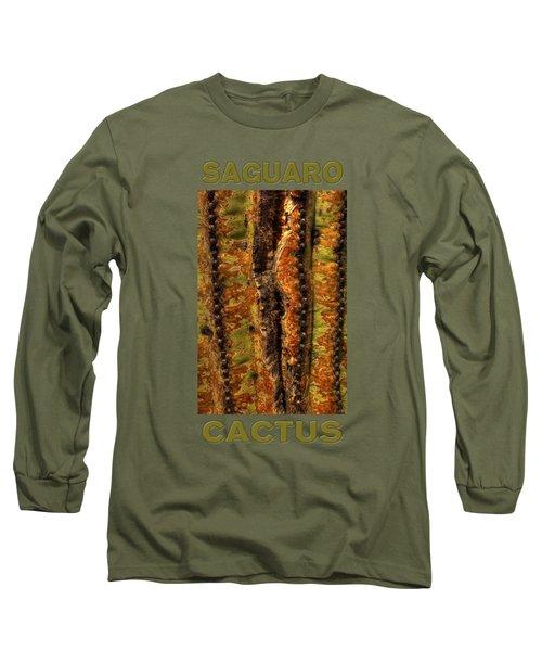 Saguaro Detail No. 23 Long Sleeve T-Shirt