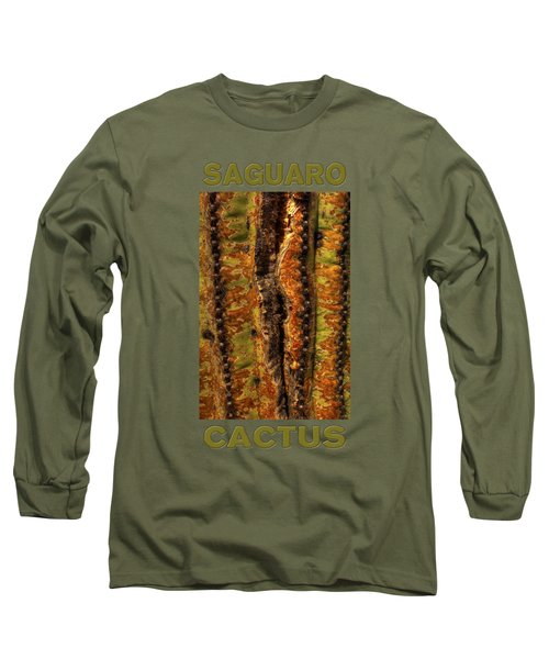 Saguaro Detail No. 23 Long Sleeve T-Shirt