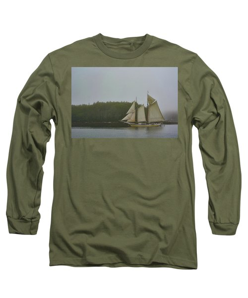 Sailing In The Mist Long Sleeve T-Shirt