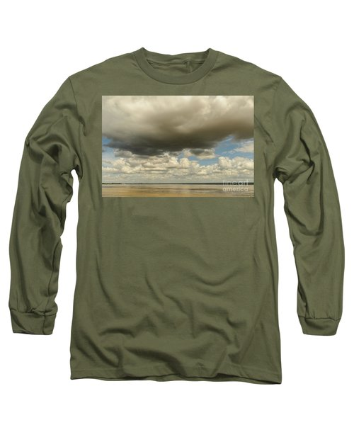 Long Sleeve T-Shirt featuring the photograph Sailing The Irrawaddy by Werner Padarin