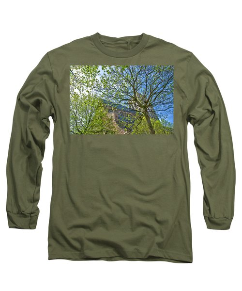 Saint Catharine's Church In Brielle Long Sleeve T-Shirt by Frans Blok