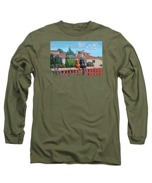 Saint-frajou. August. Long Sleeve T-Shirt