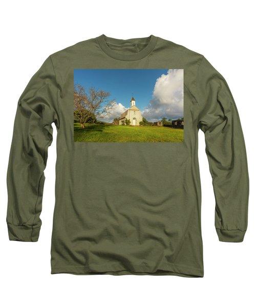 Long Sleeve T-Shirt featuring the photograph Saint Joseph's Church by Ryan Manuel
