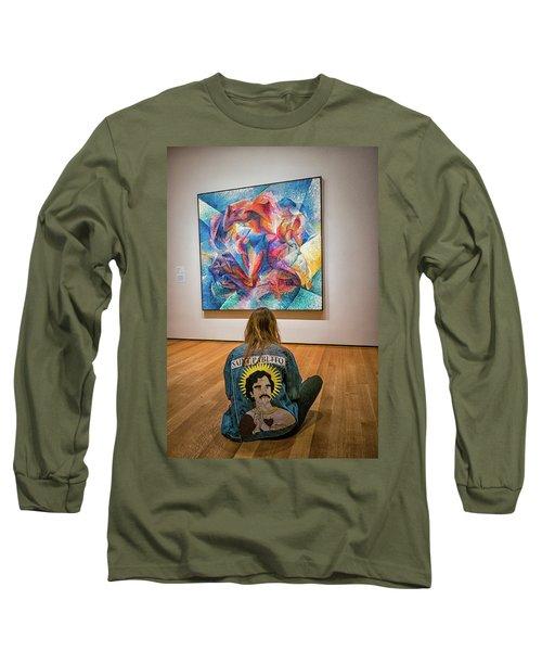 Saint Pablito At Moma Long Sleeve T-Shirt