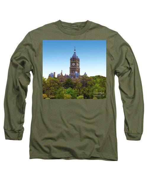 Salt Lake City Hall Long Sleeve T-Shirt