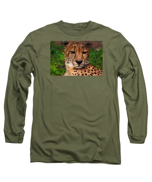 Long Sleeve T-Shirt featuring the photograph Samson by Michiale Schneider