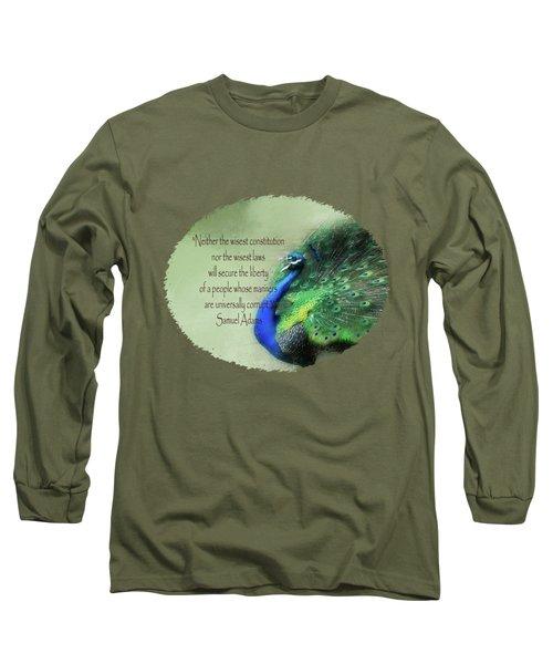 Samuel Adams - Quote Long Sleeve T-Shirt