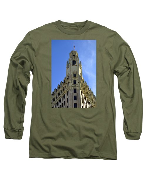 San Antonio Building 3 Long Sleeve T-Shirt