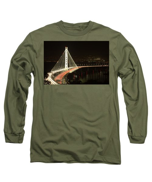 San Francisco Bay Bridge New East Span Long Sleeve T-Shirt