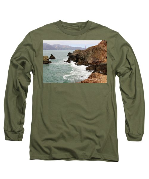 San Francisco Lands End Long Sleeve T-Shirt by Cheryl Del Toro