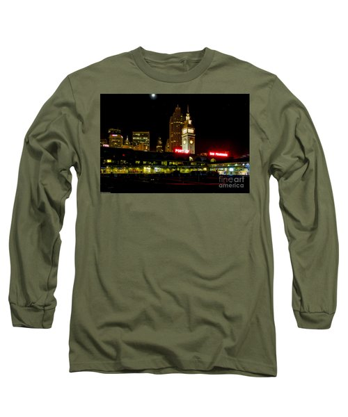 San Francisco Nights Long Sleeve T-Shirt by Mitch Shindelbower