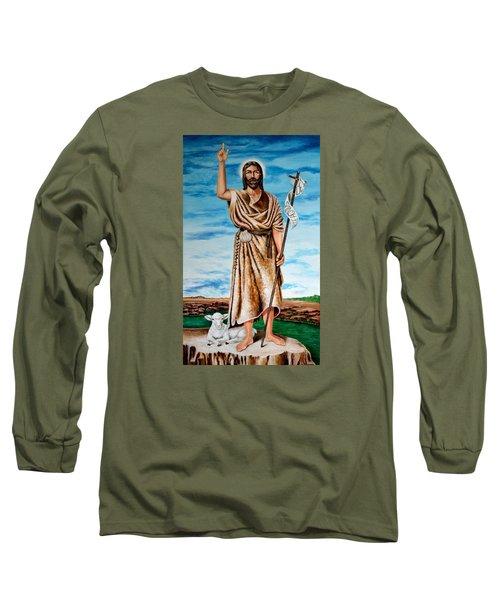 San Juan Bautista Long Sleeve T-Shirt