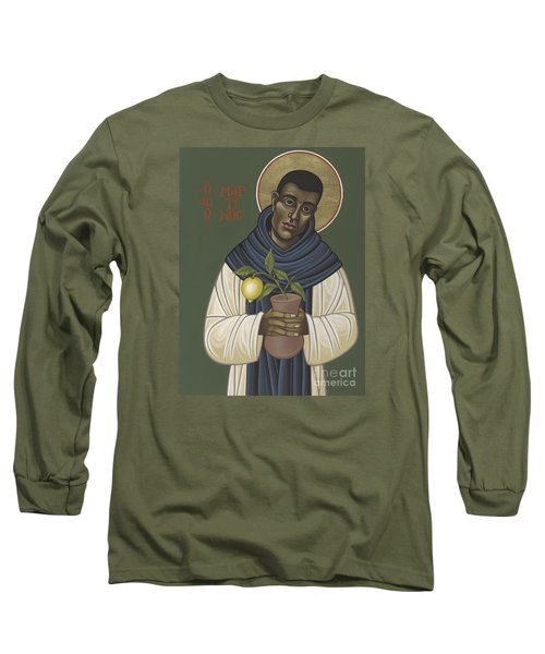 San Martin De Porres 213 Long Sleeve T-Shirt