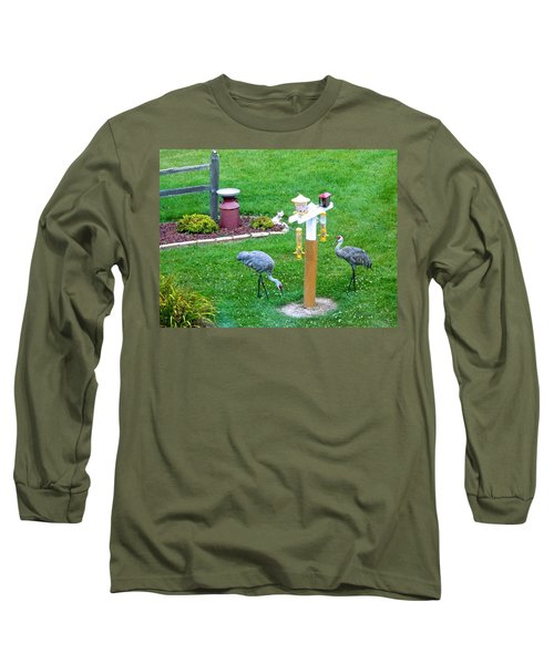 Sandhill Alert Long Sleeve T-Shirt