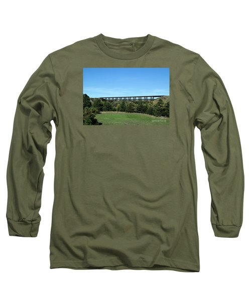 Sandhills Railroad Bridge  Long Sleeve T-Shirt